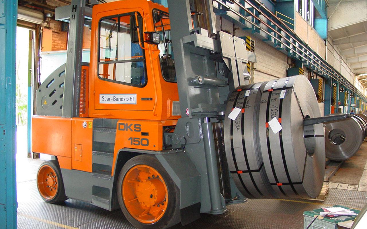 Hubtex Heavy Duty Compact Frontlift