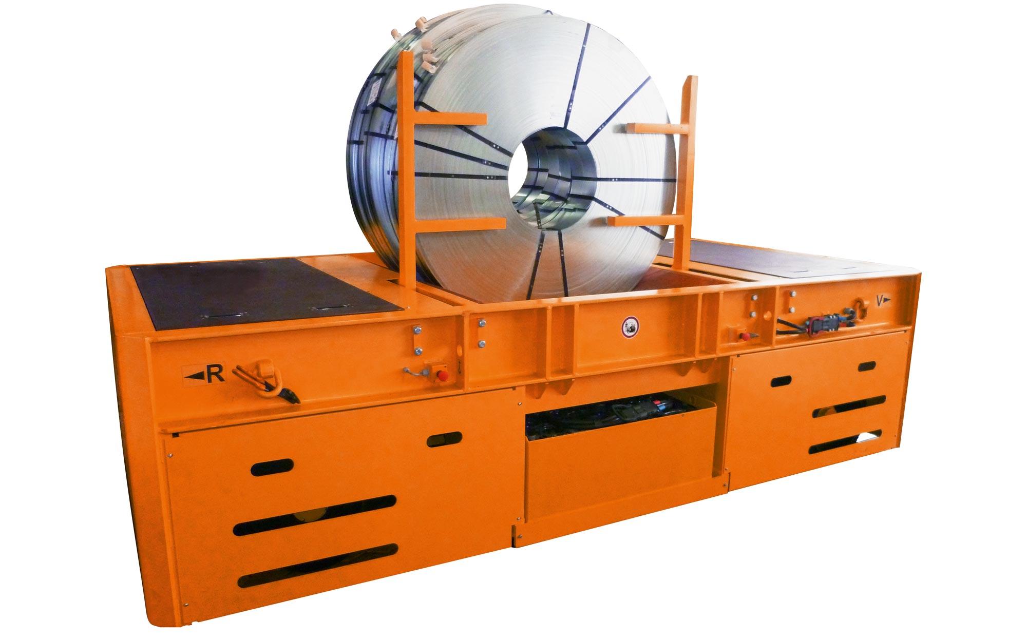 Hubtex AGV Coil Handler