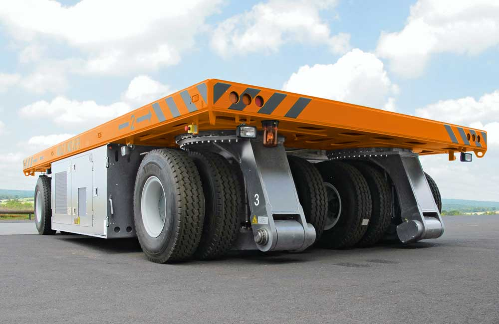 HUBTEX Heavy Duty Electric Transport Vehicle