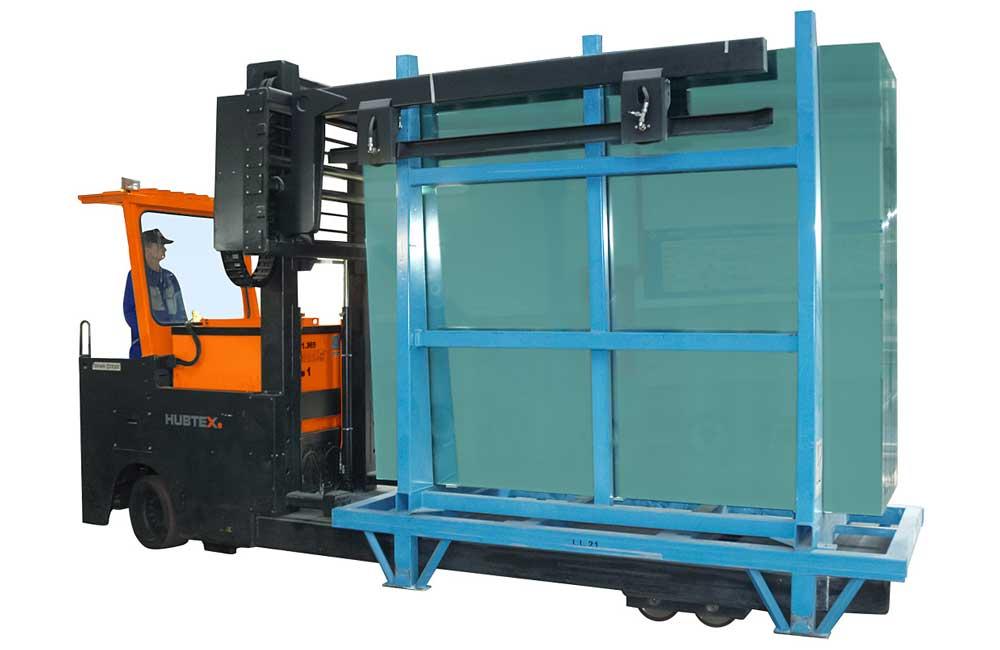 HUBTEX GTT – Glass Frame Transporter silhouette