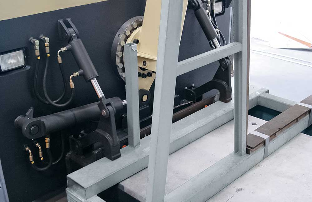 HUBTEX GTT – Glass Frame Transporter part 2
