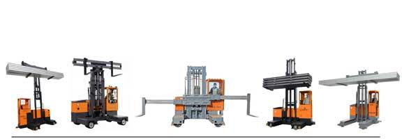 Electric Multidirectional Sideloaders