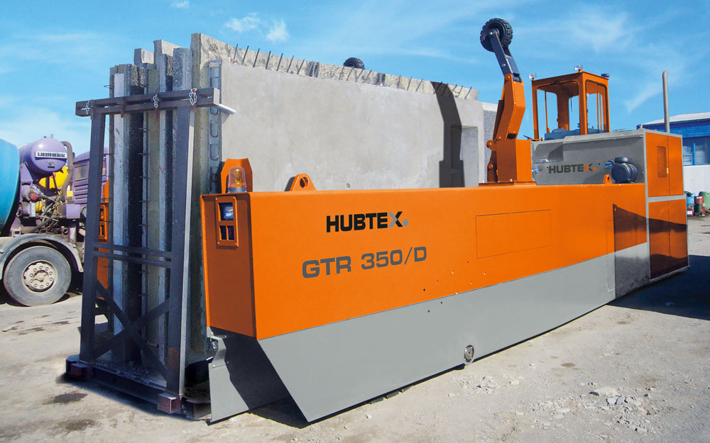 Hubtex GTR 350 Transporter for concrete slabs