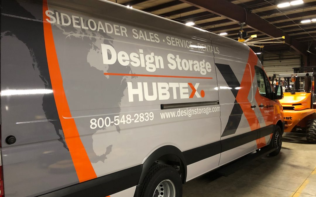 Design Storage & Handling has added a new range of new service vehicles to their fleet.